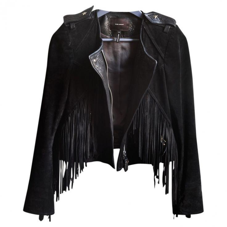 Isabel Marant - fringe jacket