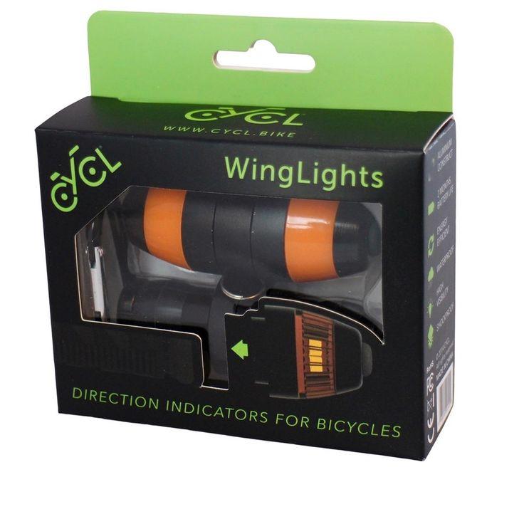 WingLights Richtingaanwijzers Fiets - Magnetisch Gewoon grappig en extra licht op je fiets is nooit weg, toch