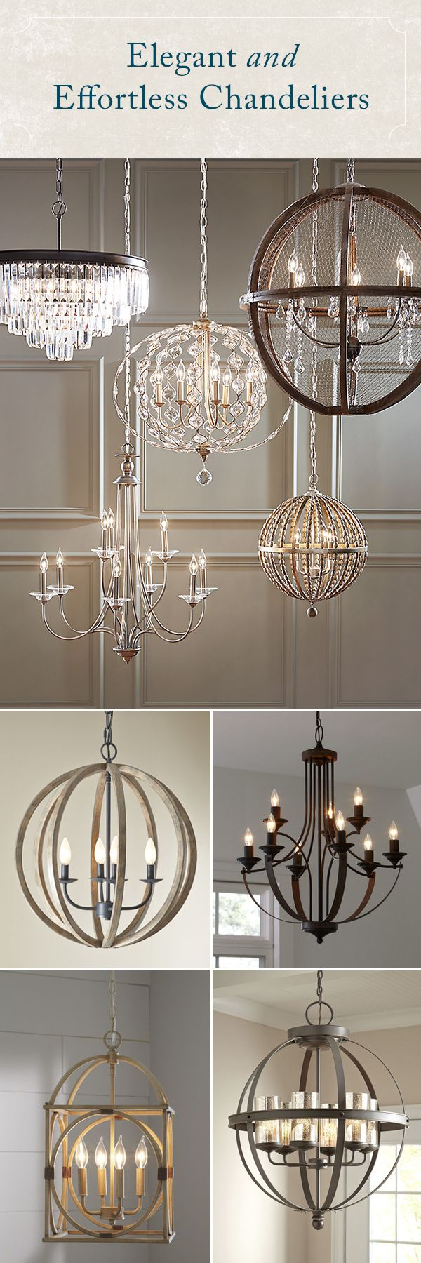 Shimmering, elegant, and bright, the right chandelier adds some much-needed drama to your space. Whether your style skews traditional or has a more rough-around-the-edges farmhouse feel, Birch Lane's selection of chandeliers has an option for you. Best of all, every order over $49 Ships Free!