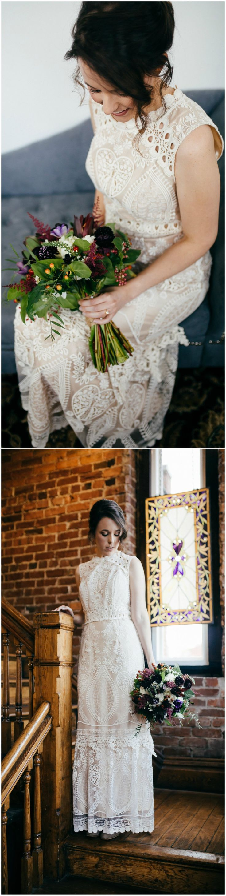 Simple Rustic Fall Wedding at The Church on Main Chattanooga TN