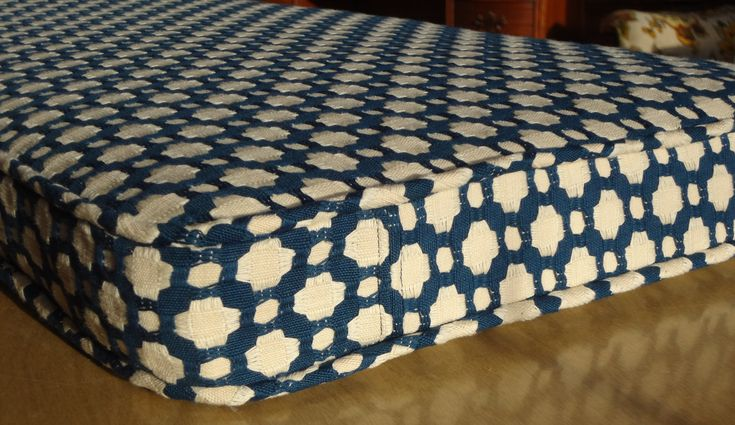 Bench Seat Cushion Cover Custom Your Fabric Selection 42 Quot X 15 1 4 Quot X 2 Quot Includes Piping And