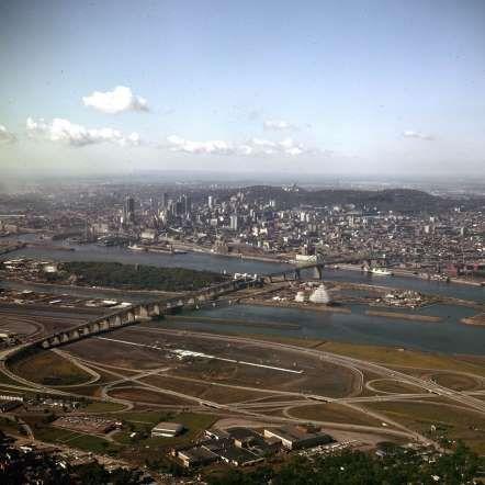 Les îles d'Expo 67, 1966 - Archives de la Ville de Montréal