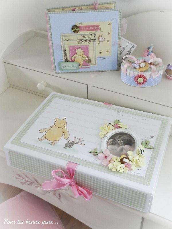 Gift set Winnie the Pooh (album and boxes) - Scrapbook.com