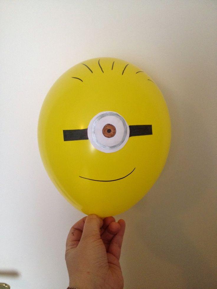 DIY // Des ballons Minions!                                                                                                                                                                                 Plus