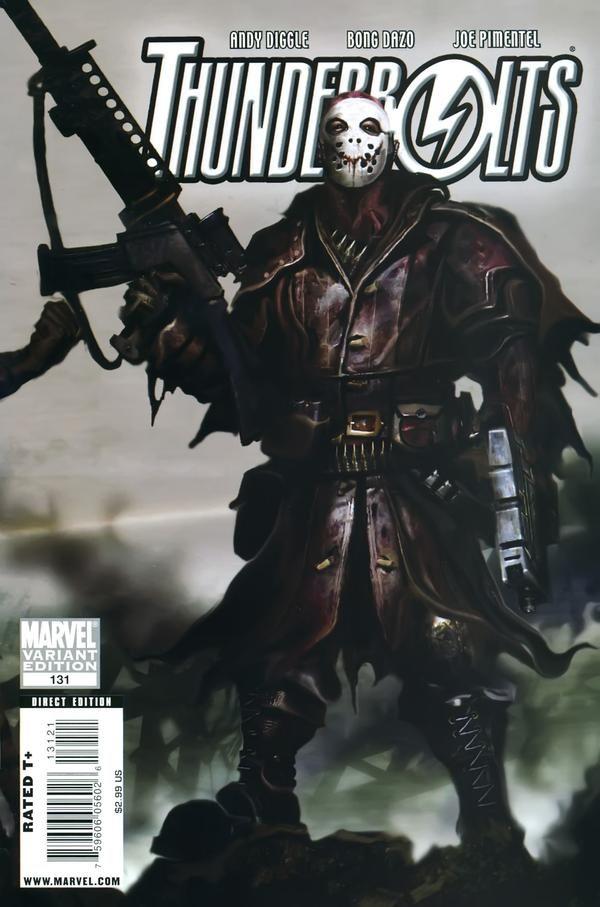 Thunderbolts Vol. 2 # 131 (Variant) by Bong Dazo & Joe Pimentel