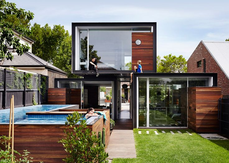 Melbourne House By Austin Maynard Is Deliberately Compact. Haus Der  ArchitekturViktorianische ...