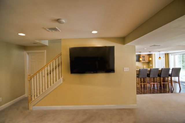 Unfinished Basement Game Room Ideas
