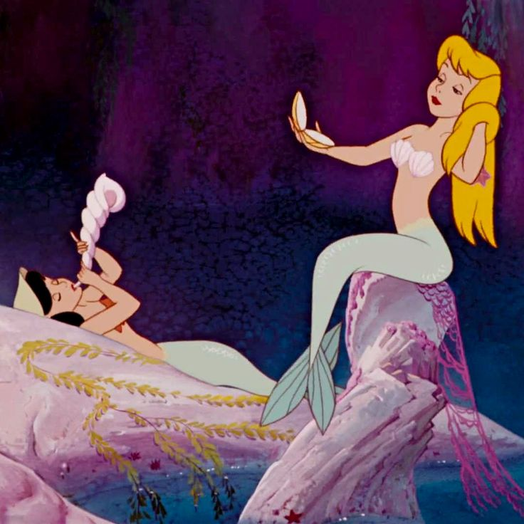 Mermaid Lagoon in Never Land (also spelled Neverland) - Peter Pan, 1953 - ...Always gonna be my favorite. ♥ #waltdisney #jamesmatthewbarrie