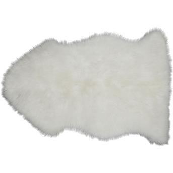 Heerlijk zacht schapenvel Sheperd. Afmeting: 45x85 cm. Kleur: wit. #kwantum_woonahaves_vloerkleed2 #kwantum #kwantum_nederland #woonahaves #daarwoonjebetervan