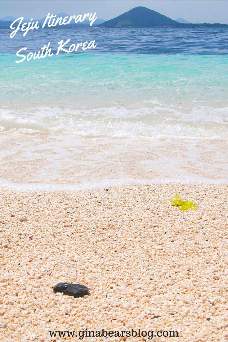 The Best Three Day Jeju Itinerary http://ginabearsblog.com/2016/09/jeju-itinerary/