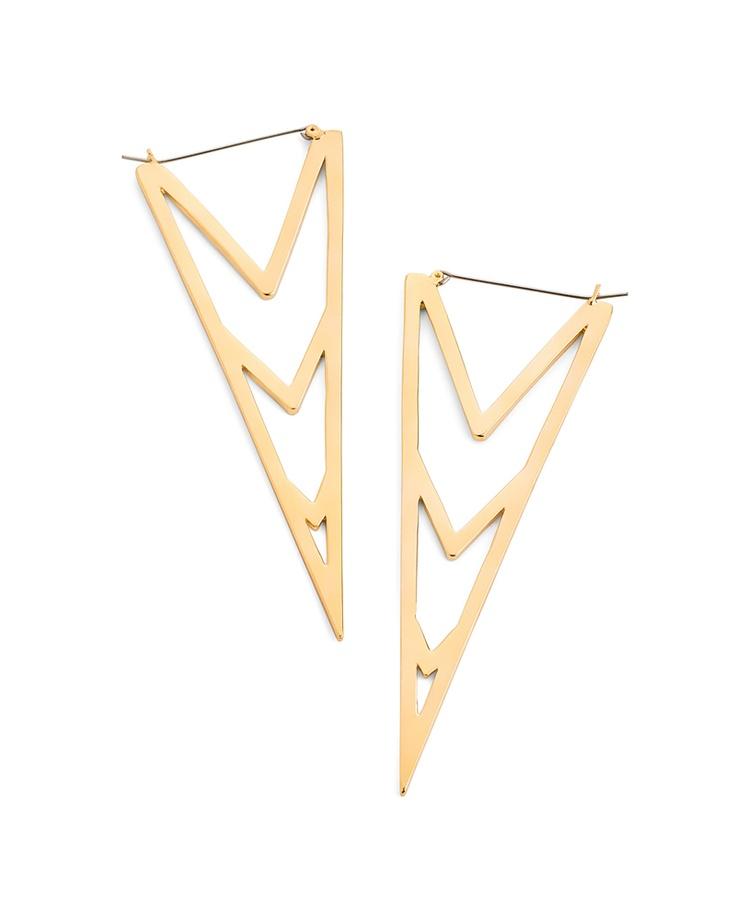 Love Triangle Earrings