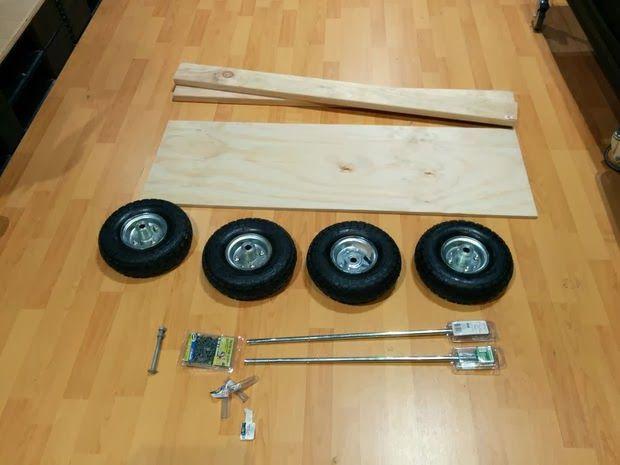 Ingeniando como construir un carro montable de madera - Cosas de madera para hacer ...