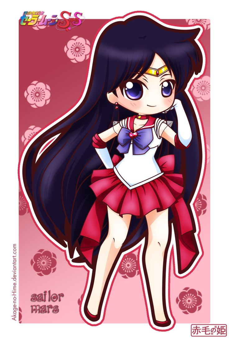 Sailor Moon Super S - Sailor Mars by Akage-no-Hime on deviantART