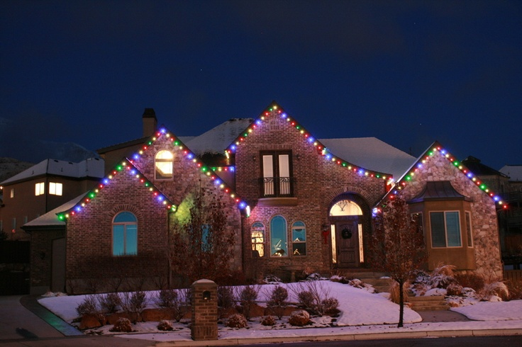 Christmas Lights Installation Denver
