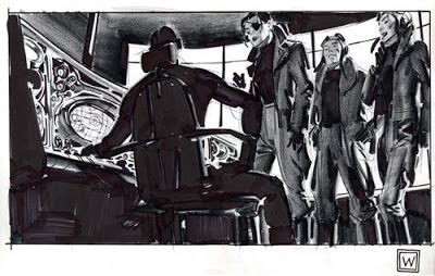 """Concept Design Academy: """"Figure & Composition"""" with John Watkiss on March 23~!!"""