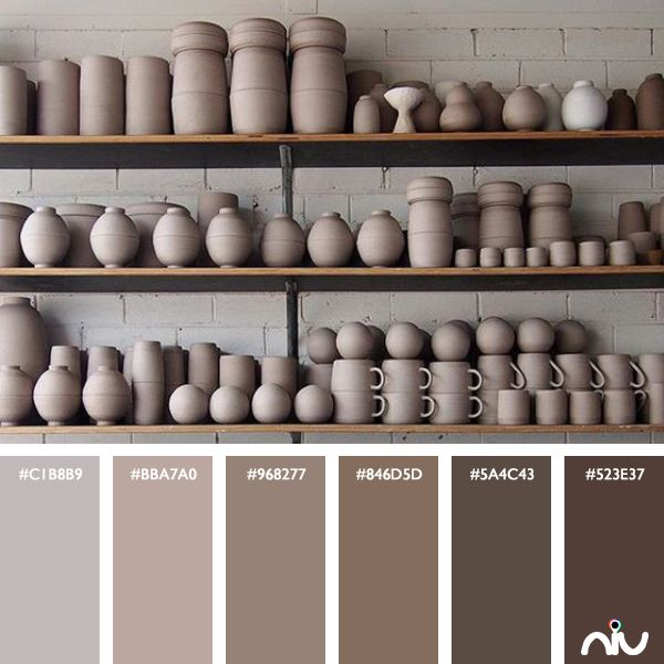 Ceramic Color Palette