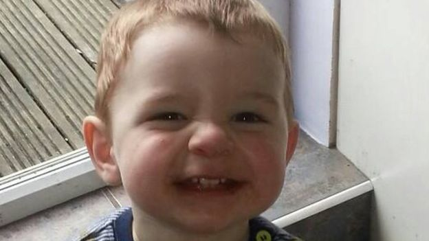 Finley Thomas,A 17-month-old boy had cocaine and cannabis in his system when he was murdered by his mother's boyfriend, a court has heard. Jurors at Cardiff Crown Court were told Finley Thomas had been exposed to drugs by his mother and her partner. Sean Buckley, 28, denies murdering Finley at his home in Tonypandy, Rhondda Cynon Taff. Both Mr Buckley and Finley's mother, Chloe Thomas, 25, deny cruelty to a young person under 16. The court heard Ms Thomas was hooked on illegal drugs and the…