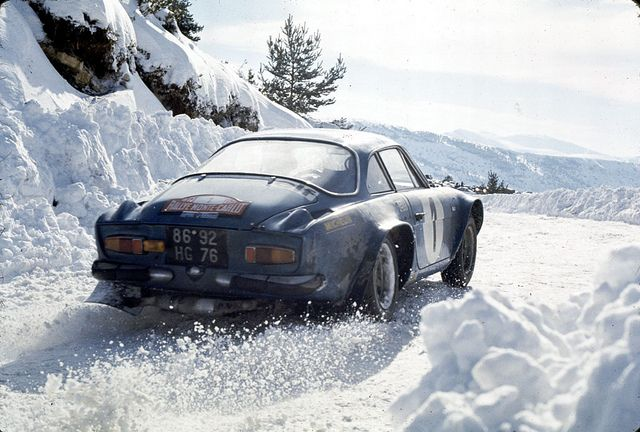 Renault-Alpine A110 by Auto Clasico, via Flickr
