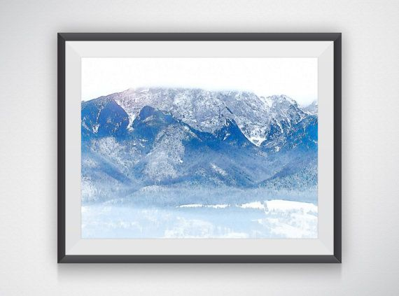 Tatry Mountain  Variation 2 by AustinGFarmer on Etsy