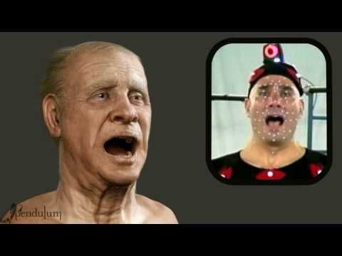 """""""Old Man"""" with Actor -  3D Motion Capture Facial Animation"""