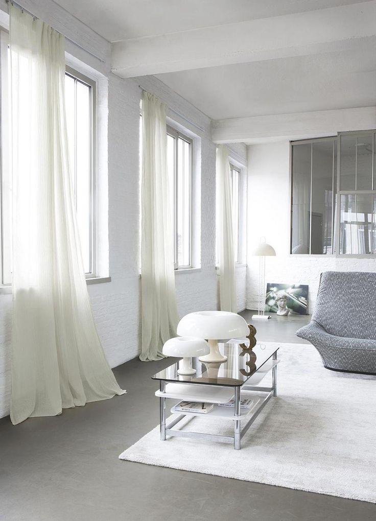 Die besten 25+ Wohnzimmer vorhänge Ideen auf Pinterest Vorhänge - gardinen modern wohnzimmer schwarz weis