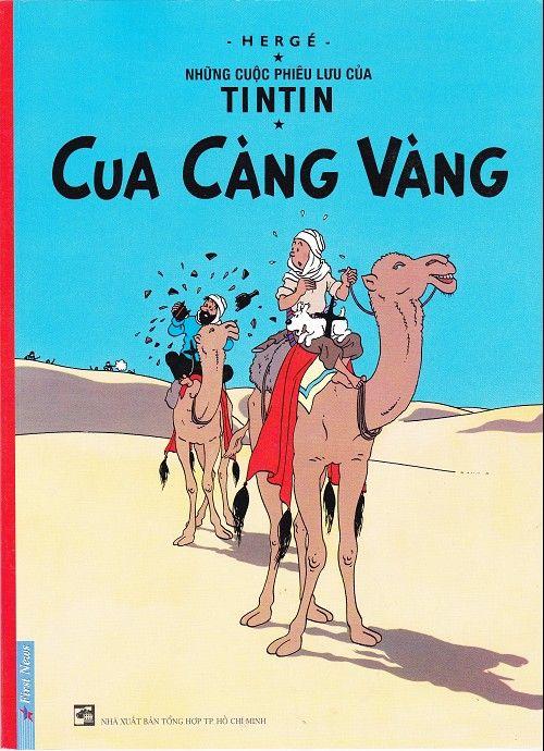 Couverture de Tintin (en langues étrangères) -9Vietnamien- Cua càng vàng