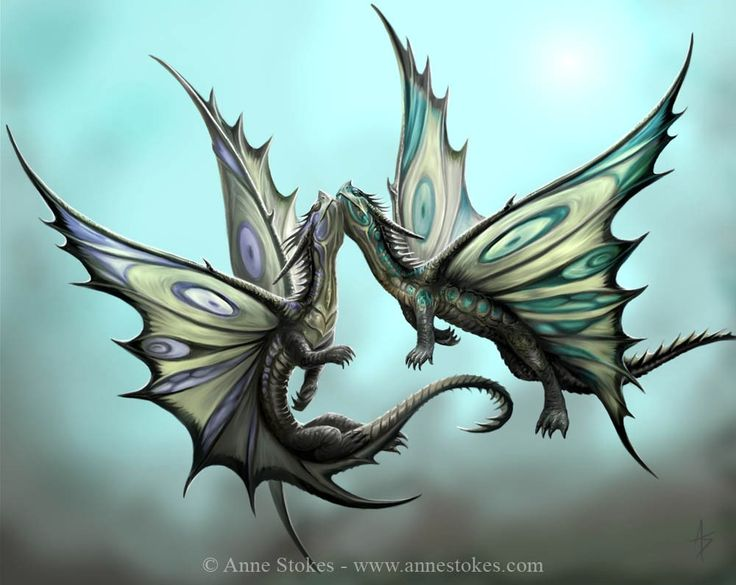 Dragons » Anne Stokes - Fly Away With Me