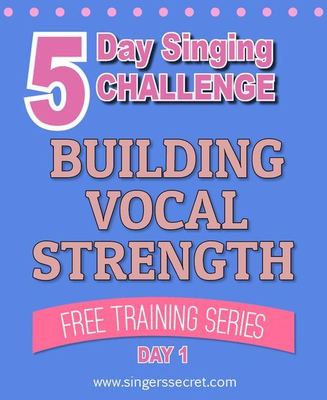 Build vocal strength with my 5 Day Singing Challenge! Day 1 is a trill exercise designed to give you a super vocal workout. Download the free backing track here: http://singerssecret.com/singing-challenge-build-vocal-strength/ #singing #singingtips