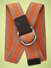 bright orange belt.Fun Belts, Stripes Belts, Orange Belts, Boys Stripes, Boys Clothing