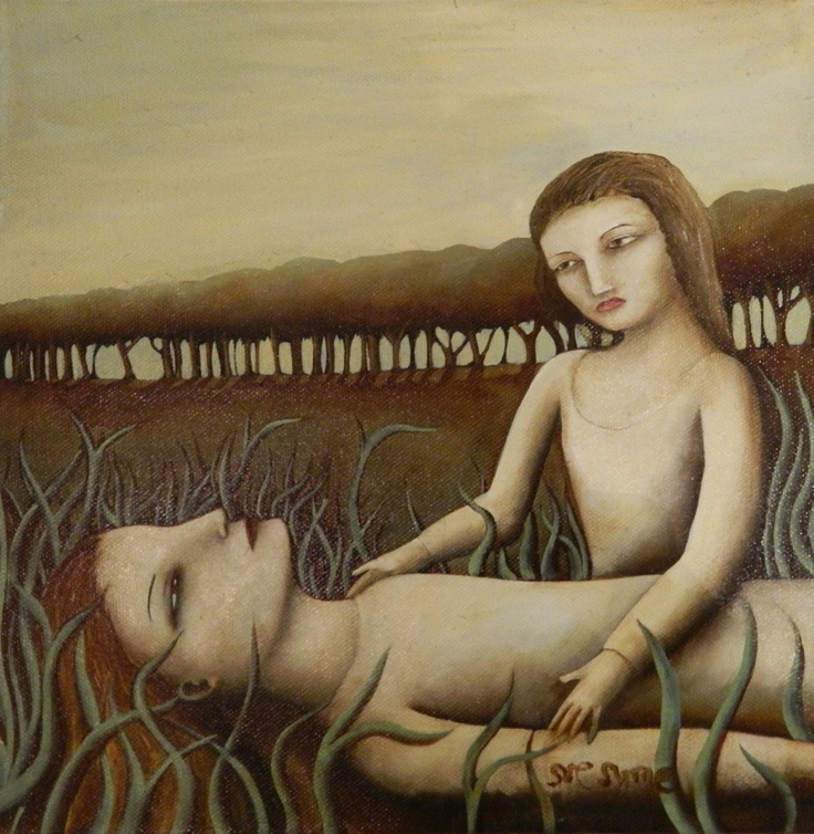 """Resting My Spirit""  By Sue Syme  $545 NZD    See more of Sue's work here  http://coolstoregallery.co.nz/paintings/suesymes/SueSyme.htm"