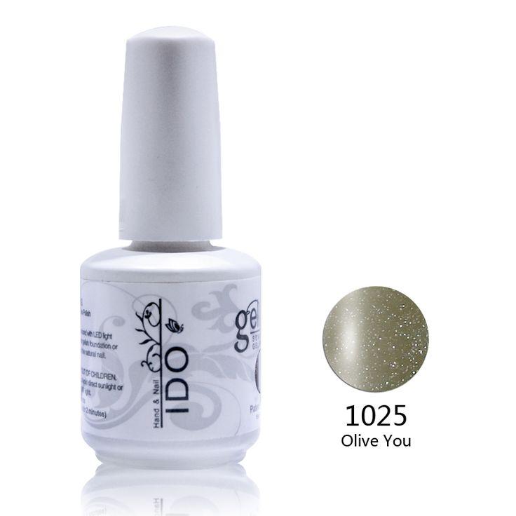 24pcs Free shipping Uv Varnishes gel nail polish nail gel (22colors+1top+1base)  IDO uv gel nail polish kit