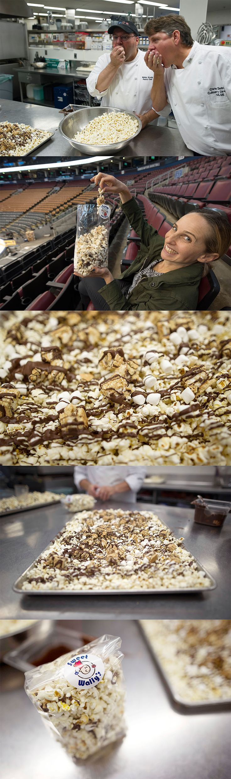 S'mores popcorn, cheeseburger 'fries': MLSE launches new game-day ACC concession food.