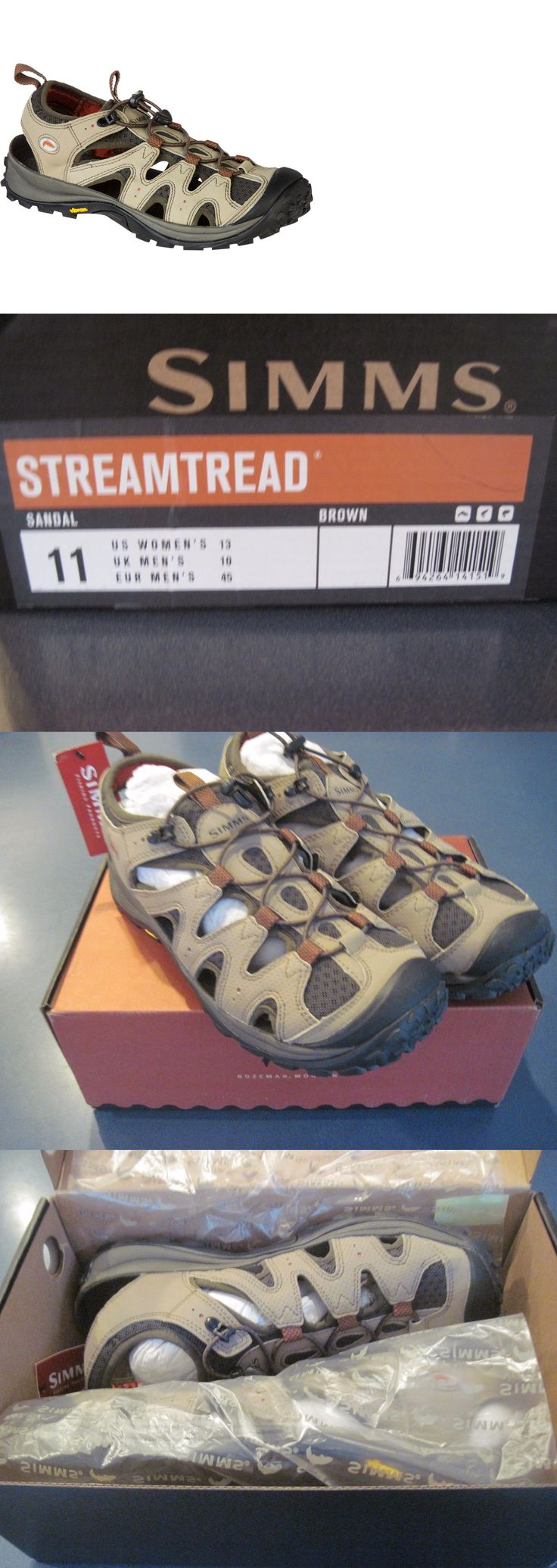 Boots and Shoes 179980: New Simms Streamtread Fly Fishing Wading Sandal Mens Size 11 - Sale - 40% Off BUY IT NOW ONLY: $69.0