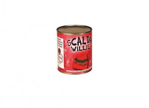 SEXY SLIP SCALDA WILLIE. Sexy slip da uomo racchiuso in un barattolo di latta