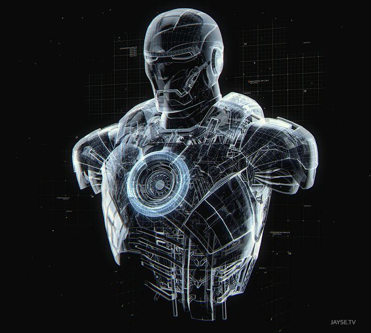 Jayse Hansen Portfolio | Iron Man III HUD & Holo Design - Jayse Hansen Portfolio |