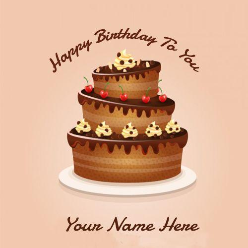 Happy Birthday Wish Chocolate Greetings Cards Online
