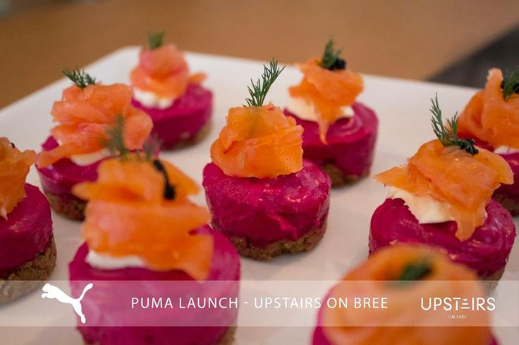 Upstairs on Bree Puma Launch   #foodie #catering #event #puma #upstairsonbree #capetown #perfection #food
