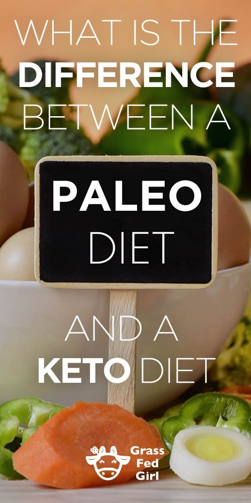 what is the difference between a paleo diet and a keto diet