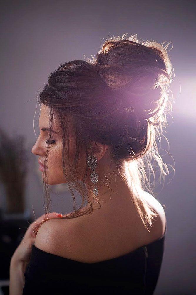 Более 25 лучших идей на тему «Bun hairstyle» на Pinterest