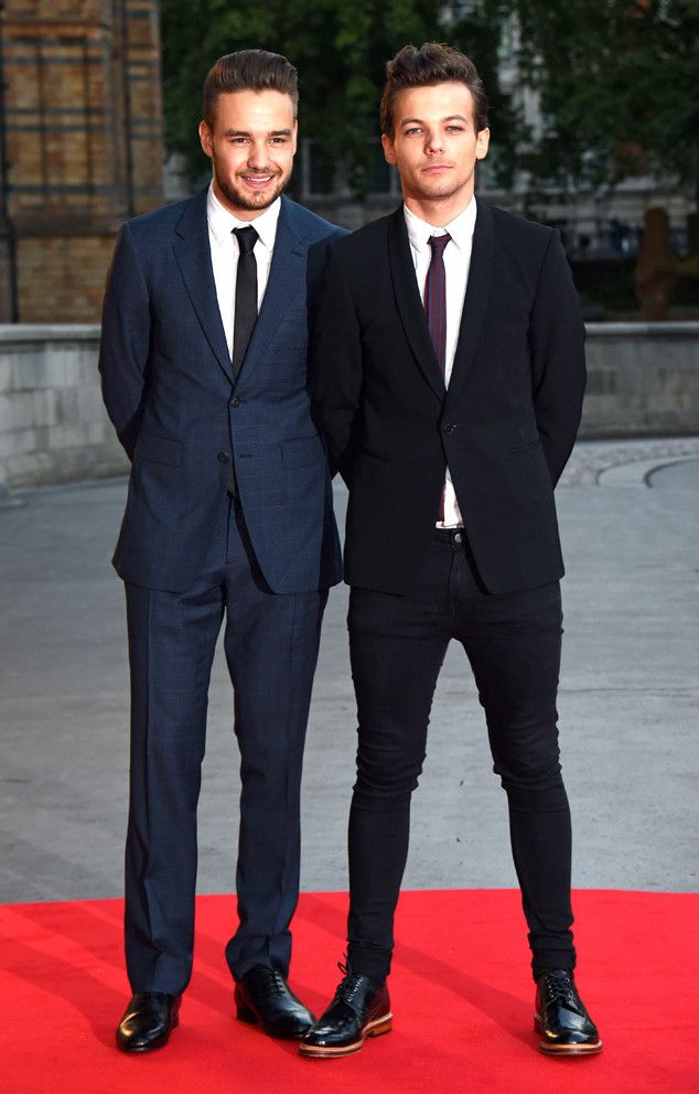 Louis Tomlinson & Liam Payne from The Big Picture: Today's Hot Pics  One Direction band members looked dapper when attending theBelieve in Magic Cinderella Ball at Natural History Museum.
