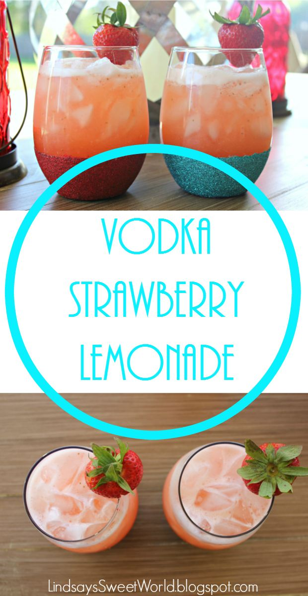 The Very Best Summer Cocktail: Vodka Strawberry Lemonade