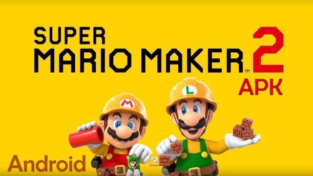 Descargar Super Mario Maker 2 Apk V1 0 0 Obb Data Para