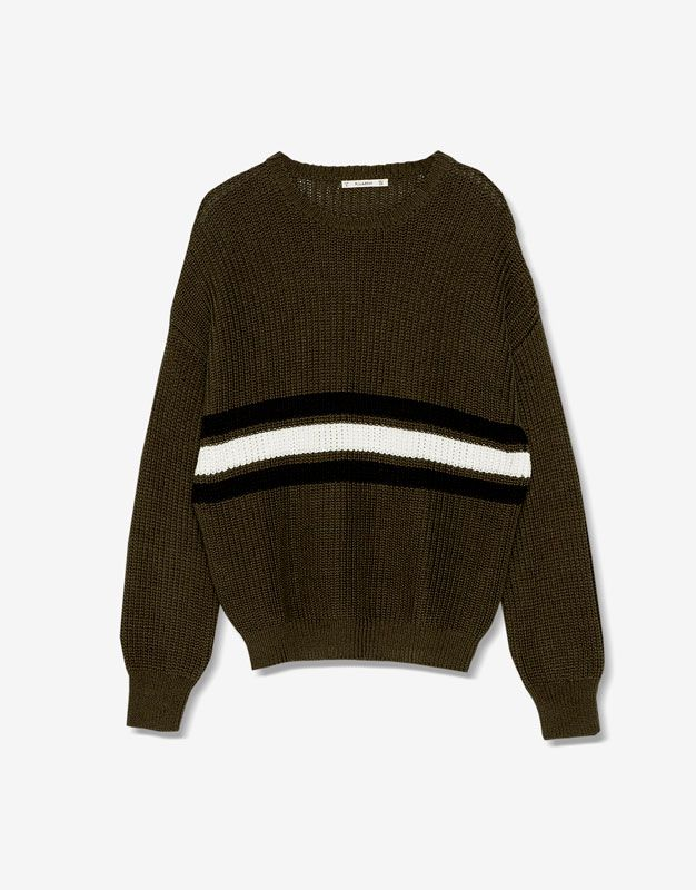 Pearl knit sweater - Knit - Clothing - Woman - PULL&BEAR Greece