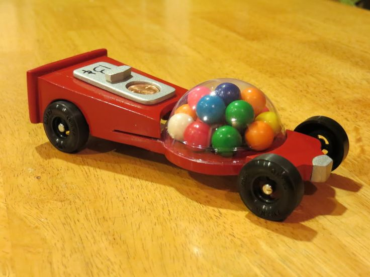 ahg pinewood derby bubblegum pinewood derby car - Pinewood Derby Car Design Ideas