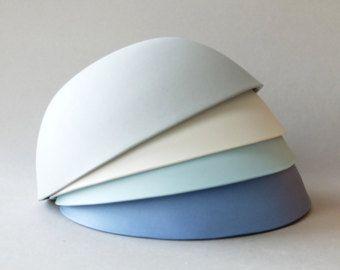 Conjunto de tazón de cerámica, tazón de pasta, cerámica rústica, Ensaladera, cerámica moderna, recipiente, vajilla de porcelana, taza azul, regalo de boda para la pareja