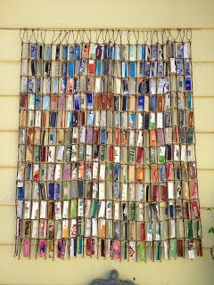 SarahrachaMy recycled plastic credit cards, gift cards and hotel room keys.
