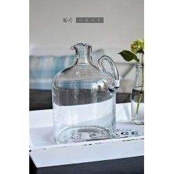 Hand Finished Gallon Glass Jug / Bottle - 2.5 litres