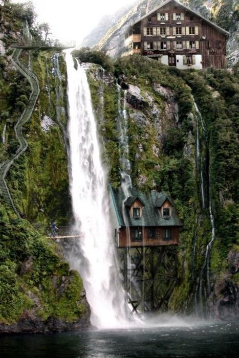 #waterfall #houses  #journey #timeshare http://www.timesharescam.com/blog/153-timeshare-regulations/