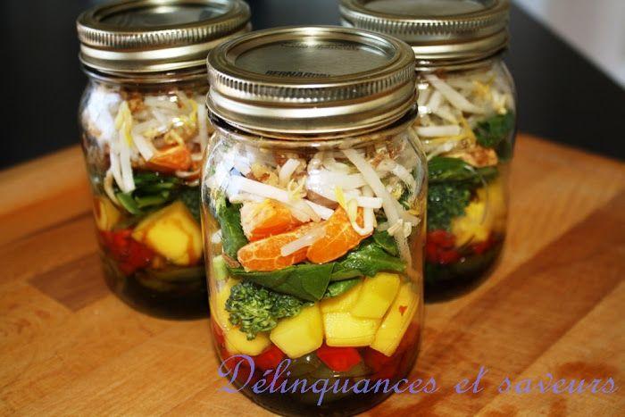 salade sucrée  Délinquances et saveurs
