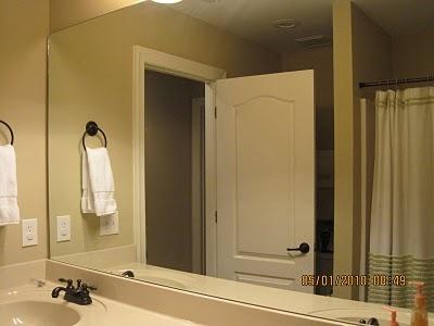 Bathroom mirror frame tutorial build it yourself pinterest for Mirror yourself